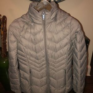 London FOG packable puffer down coat
